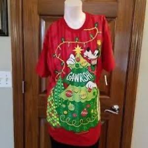 New Disney Parks Gawrsh Goofy Shirt 2XL